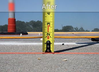 After leveling Paterson roadway with PolyLevel®