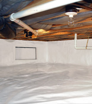 crawl space repair system in Clifton