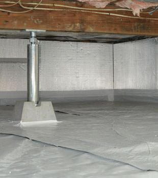 A Superior Solution For Sealing Insulating Your Home S Crawl E