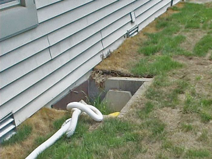 Crawl Space Access Window Wells Installed In New Jersey The