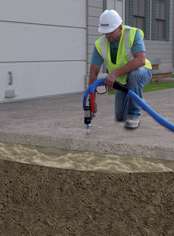 PolyLevel Concrete Lifting and Leveling