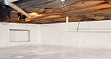 Crawl space moisture control and structural repair in NJ and NYC