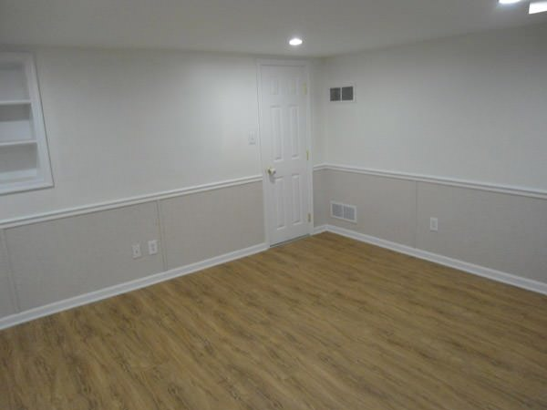basement walls without drywall